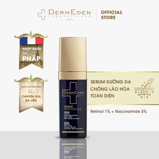 Serum chống lão hóa da và giảm nám tàn nhang DERMEDEN Intense Anti-ageing Retinol 1% + Niacinamide 5% 30ml thumbnail