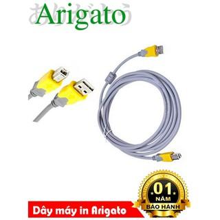 Dây máy in ,cáp máy in 1.5m xám Arigato