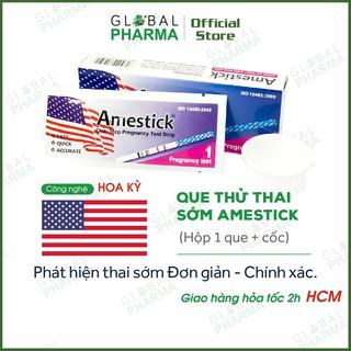 [CÔNG NGHỆ USA] Que Thử Thai Sớm AMESTICK (Hộp 1 Que + Cốc) - Độ Nhạ thumbnail