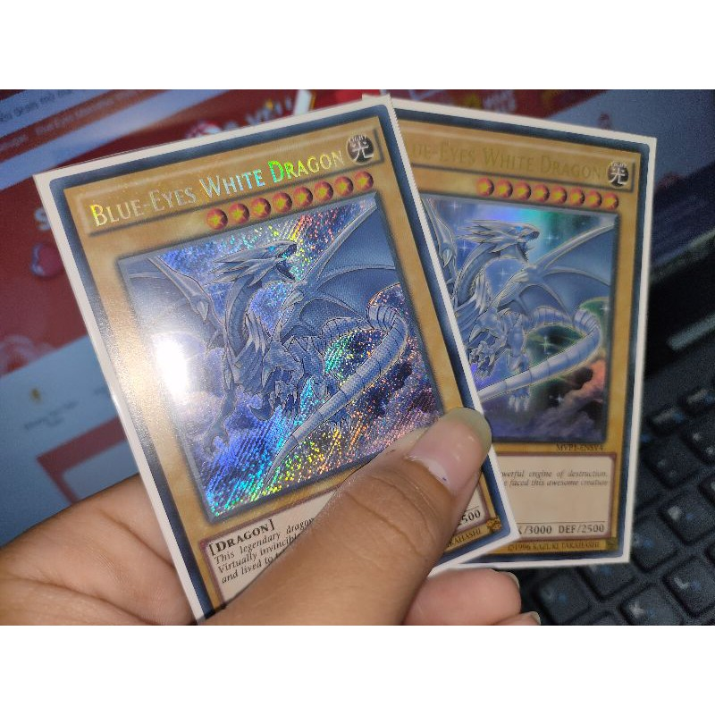 Thẻ Bài Yugioh – Blue-Eyes Whie Dragon MVP1 UK (Ultra/Secret)