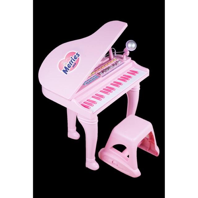 Bộ đàn piano cho bé kèm ghế và micro