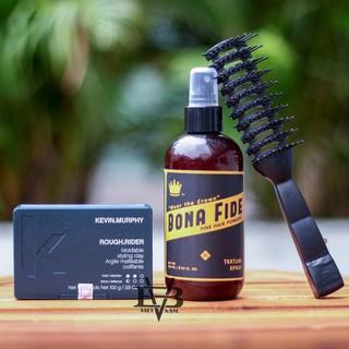 [COMBO] Sáp vuốt tóc Kevin Murphy Rough Rider 100g USA + Xịt dưỡng tóc BONA FIDE 250ml Pre-Styling +Tặng lược tạo kiểu thumbnail