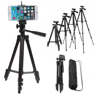 Giá đỡ điện thoại-Tripod quay TikTok chân đèn livestream chân đỡ máy ảnh cứng bền đẹp chắc