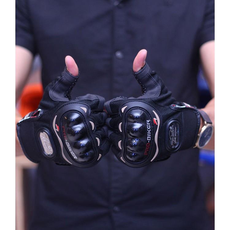 [Free Ship] Găng tay xe máy có gù bảo vệ Probiker