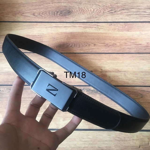 Dây Lưng Nam Da Thật Phong Cách Sang Trọng TM18