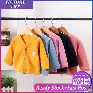 【COD & READY STOCK】áo len cho bé vải len đáng yêu dành cho bé trai và bé gái