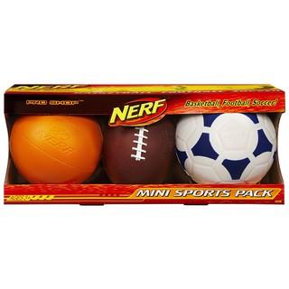 Đồ chơi thể thao bóng đá, bóng rổ Nerf Pro Shop Mini Sports Pack