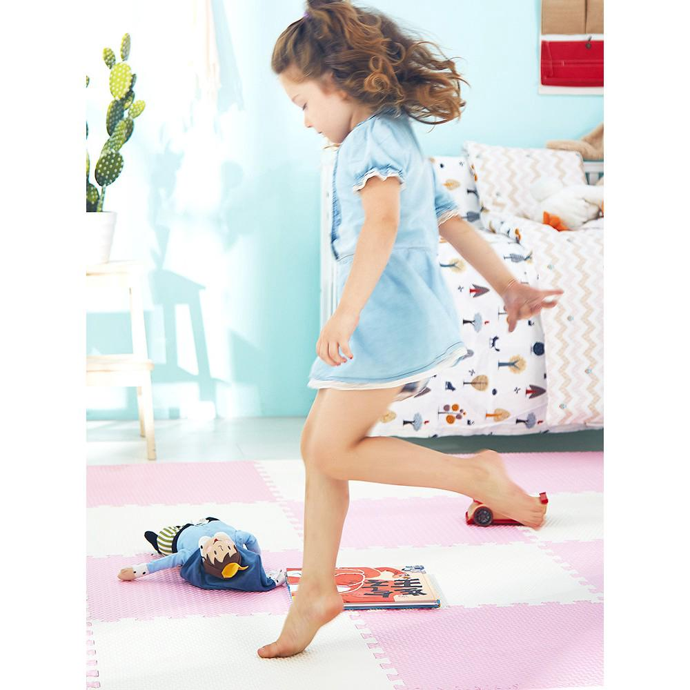 6pcs / set eva bọt bé chơi câu đố mat cho trẻ em sàn thảm thảm 60x60x1.2cm