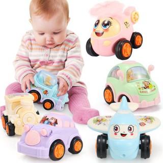 Bộ Xe Minikids toy hãng alloy – 6 Xe động cơ bánh đà – Hộp quà tặng tuyệt vời cho trẻ từ 1 – 6 tuổi