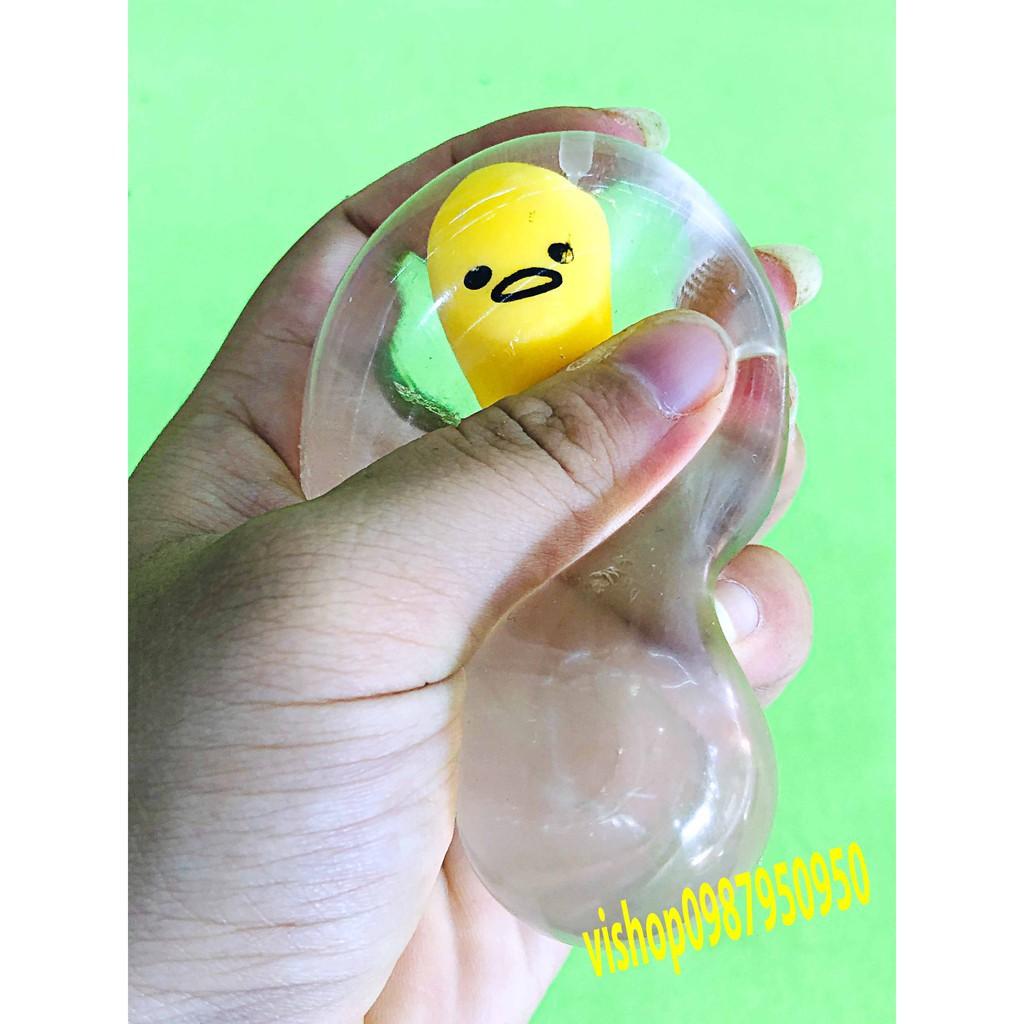đồ chơi gudetama trứng biến thái - anh nôn ọe mã RXX52 BCMD