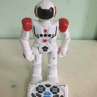 Người Máy Robot Điều Khiển + Cảm Ứng