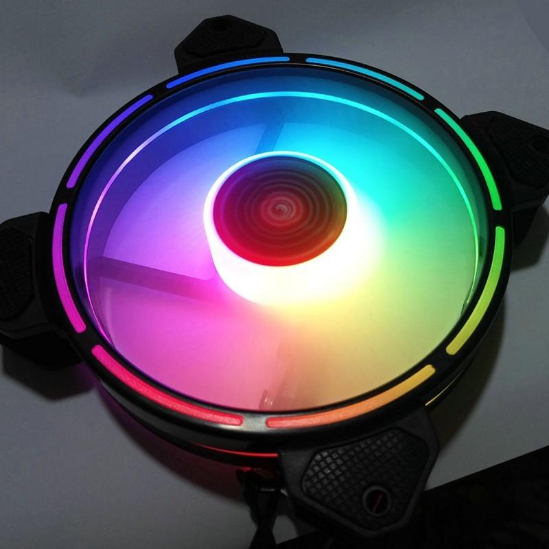 Quạt Tản Nhiệt, Fan Case Led RGB HF300 - 16 Triệu màu, 366 hiệu ứng