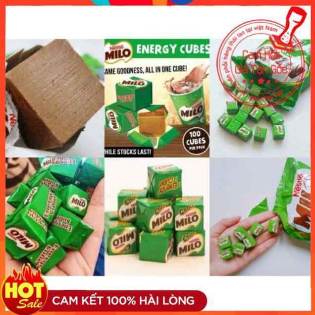 Kẹo sữa Milo Cube Thái Lan