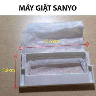 [LƯỚI SIÊU DÀY ] Túi lọc máy giặt SANYO đời cũ, lưới lọc rác thải trong máy Sanyo