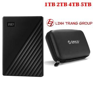 Ổ cứng di động USB3.0 Western Digital My Passport 5TB 4TB 2TB 1TB – bảo hành 3 năm SD36 SD37 SD38 SD39