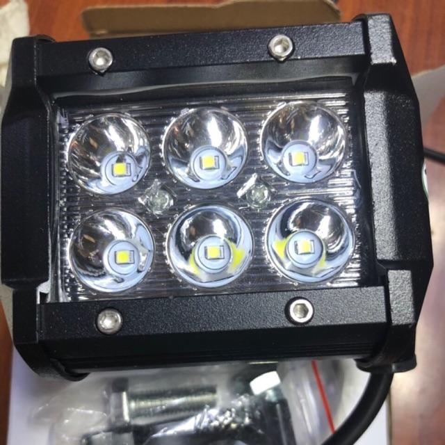Đèn trợ sáng vuông 6 bóng led 12V - 3400064 , 1236604897 , 322_1236604897 , 150000 , Den-tro-sang-vuong-6-bong-led-12V-322_1236604897 , shopee.vn , Đèn trợ sáng vuông 6 bóng led 12V