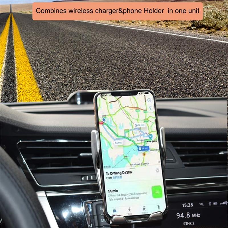 Đế Sạc Điện Thoại Không Dây Tự Động Cho Iphone 11 Pro Max Xs Samsung S10 S20
