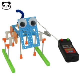 DIY Boy Walking Robot Science Experiment Children Toy Robot