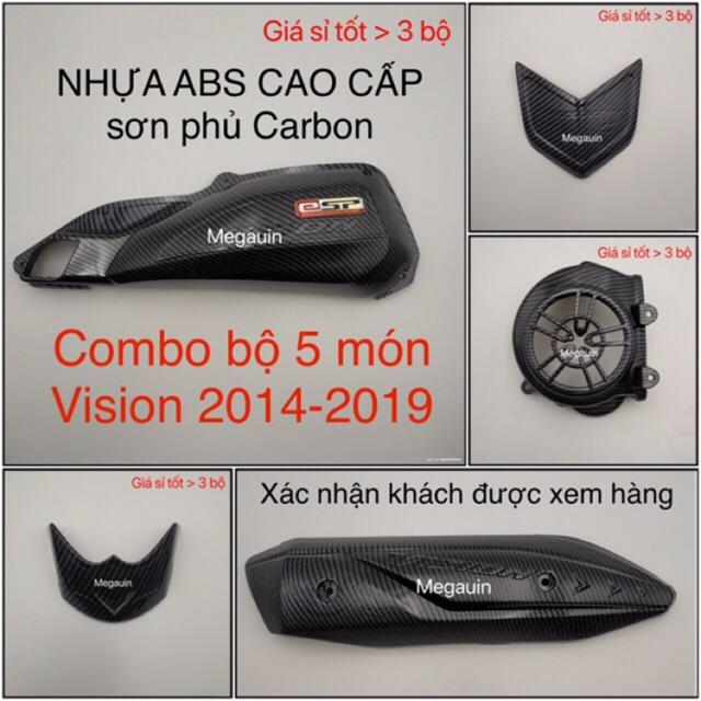 COMBO BỘ ỐP 5 MÓN VISION 2014-2020 SƠN CÁC BON CAO CẤP