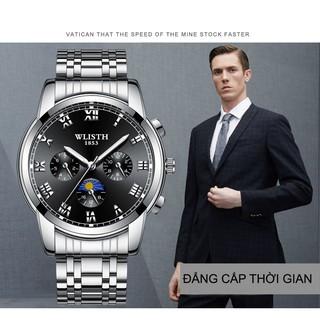 Đồng hồ nam WLISTH cao cấp phong cách Châu Âu S509