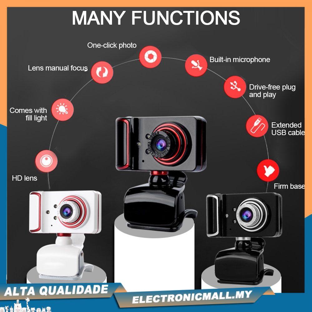 Camera Ghi Hình Hd Cao Cấp Cho Máy Tính