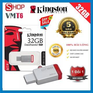 USB 32GB kingston DT50 tốc độ 2.0 - Bảo hành 60 tháng !!!