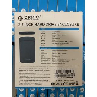 QAXC Hộp Ổ Cứng 2.5 Inch USB 3.0 Chính Hãng Orico – HDD BOX 2.5 USB 3.0 – 2020U3 62