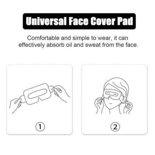for Oculus Quest 2 Vr Eye Mask Cotton Cloth Face Protection Time Vr U8R3 Covers O0N8