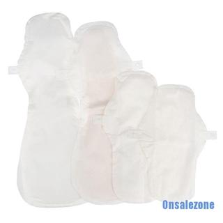 (hàng Mới Về) Miếng Đệm Vệ Sinh Vải Cotton Có Thể Tái Sử Dụng 24 / 27 / 38 / 42cm