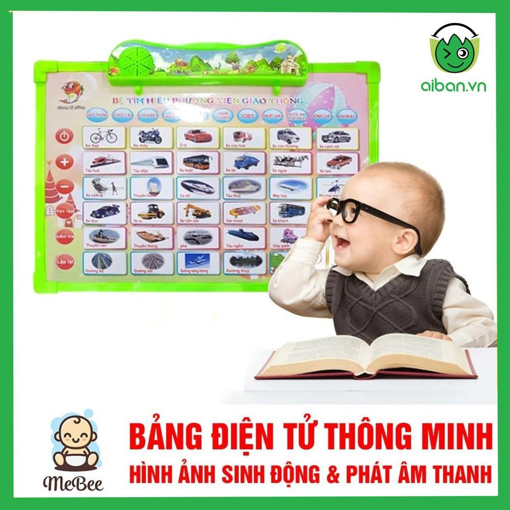 Bảng điện tử thông minh 11 chủ đề Anh - Việt cho bé