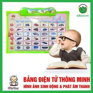 Bảng điện tử thông minh 11 chủ đề Anh – Việt cho bé