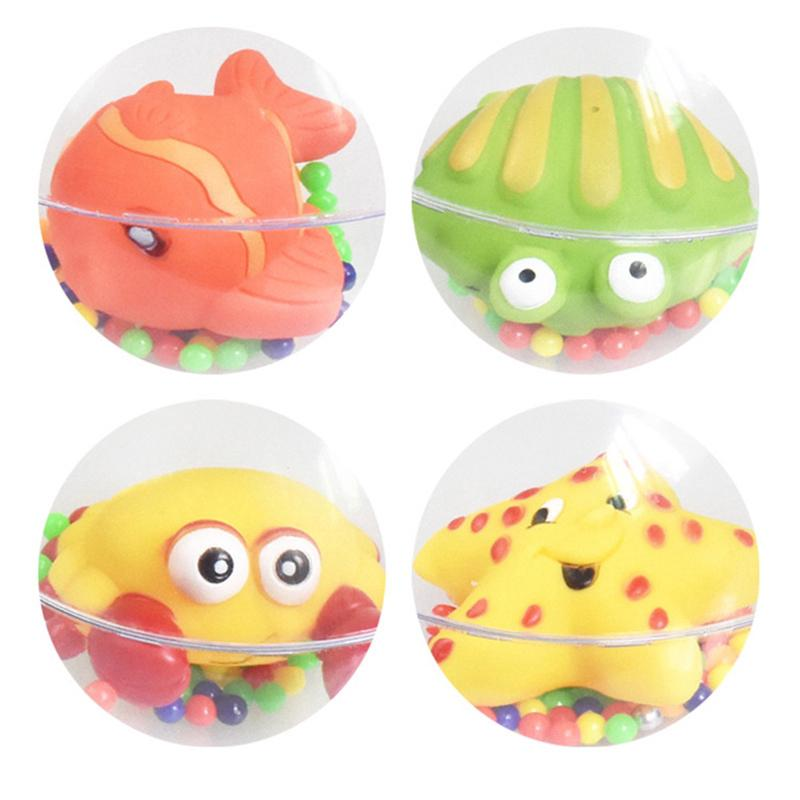 Cute Handbells Musical Developmental Toy Bed Bells Kids Baby Rattle Toys