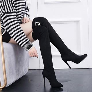 Giày Boot Cao Gót Thời Trang Nữ