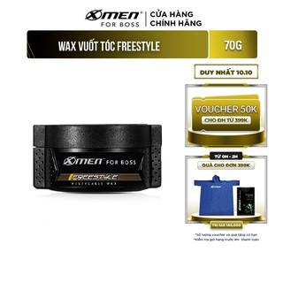 Sáp vuốt tóc X-Men For Boss Wax FREESTYLE 70g – Vuốt nhẹ tự nhiên