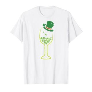 Áo Thun In Hình – Wine Shamrocks Armug St Patricks Day Drinking Women Mugdesign – Msat-26177