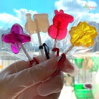 Kẹo mút hoa quả HANDMADE- ăn vặt an toàn đảm bảo cho bé thumbnail