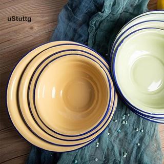 Bát ăn súp tráng men đa năng phong cách vintage cho nhà bếp - hình 2