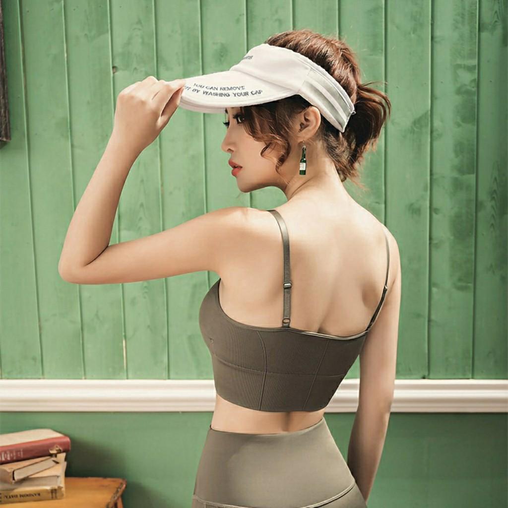 Mặc gì đẹp: Dẻo dai với [Mã 1010FASHIONSALE3677 giảm 10K đơn 50K] Áo tập GYM nữ, tập thể thao đa năng, Yoga, phối đồ cá tính - ChikChik AL009