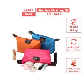 Túi đựng mỹ phẩm trang điểm cá nhân chống thấm nước nhỏ gọn tiện lợi Karot Shop thumbnail