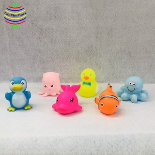 Đồ chơi trẻ em giá rẻ-đồ chơi trẻ sơ sinh-Thú chít đồ chơi nhà tắm