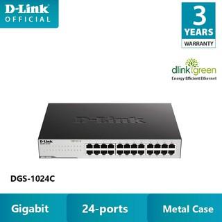 Bộ chia mạng switch D-LINK DGS-1024C - Hàng chính hãng thumbnail