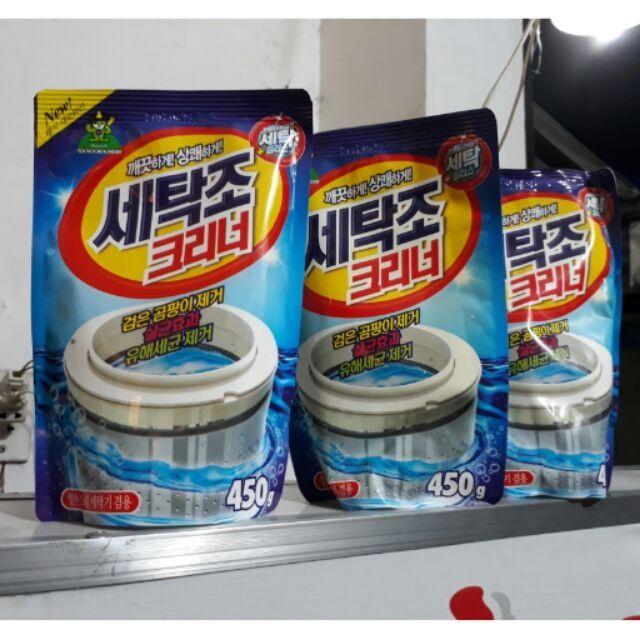 Túi tẩy lồng máy giặt 450g