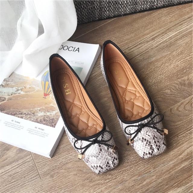 [ Hàng order 5 ngày] giày búp bê nữ vân rắn quảng châu - 2469762 , 1154540201 , 322_1154540201 , 365000 , -Hang-order-5-ngay-giay-bup-be-nu-van-ran-quang-chau-322_1154540201 , shopee.vn , [ Hàng order 5 ngày] giày búp bê nữ vân rắn quảng châu