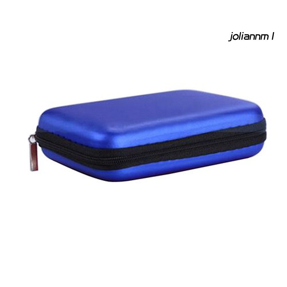 Túi Đựng Tai Nghe / Thẻ Nhớ 2.5 Inch Có Khóa Kéo Tiện Dụng