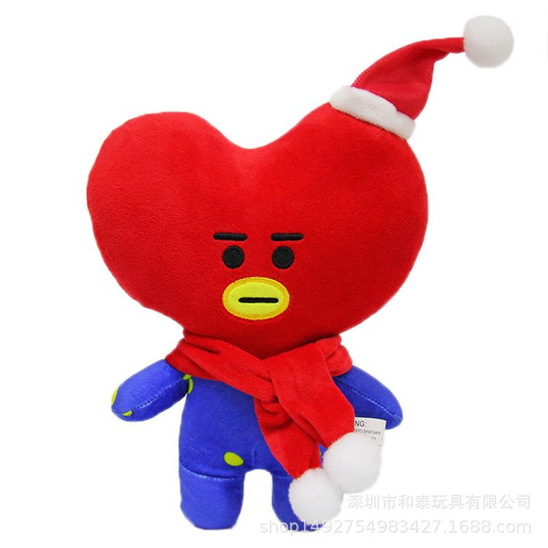 BTS KPOP Cute Bangtan Plush Stuffed Toys Christmas Gifts Suprising New Style