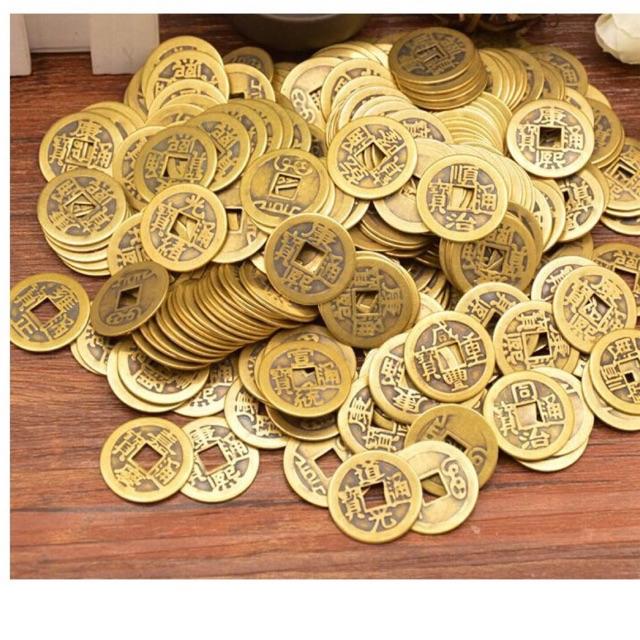 Đồng tiền xu âm dương kích tài vận