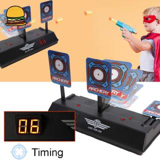 Children Electric Score Bullet Target Toy for Soft Bullets Blaster