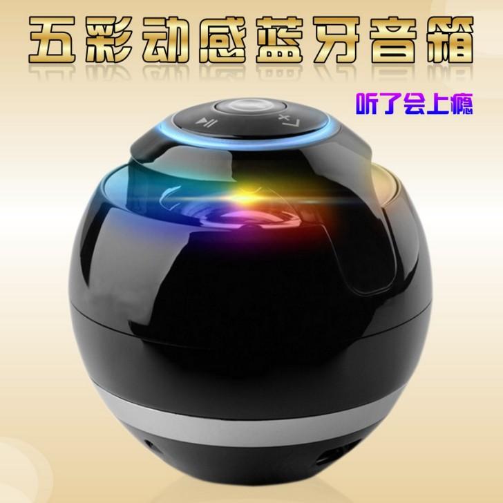Loa mini trứng bluetooth 360 di động quả cầu tròn Model GS009 GT175 YST175 hỗ trợ cắm thẻ nhớ độc đáo - dc2282