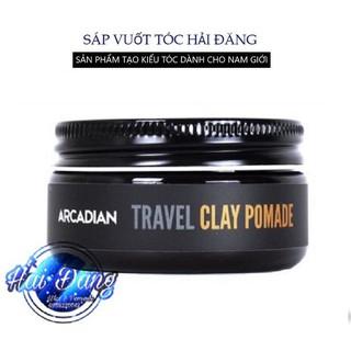 [CHÍNH HÃNG 100%] Sáp vuốt tóc Arcadian Clay Pomade Travel Size 56gr - Nhập Mỹ