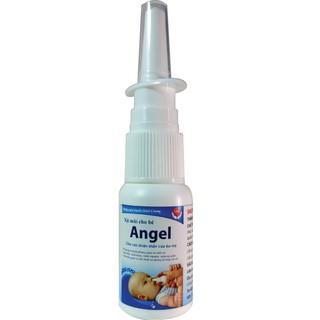 Xịt mũi cho bé rửa mũi vệ sinh mũi ngăn ngừa viêm mũi viêm amidan viêm họng thumbnail